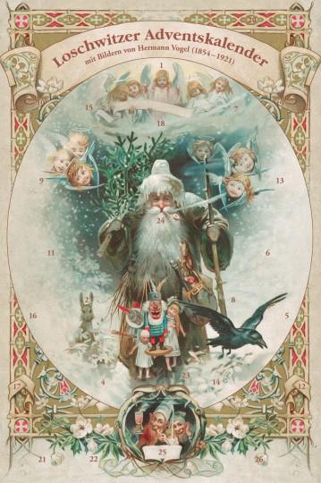 Loschwitzer Weihnachtskalender mit Motiven von Hermann Vogel